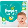 Pampers Windeln Baby-Dry, Größe 4 Maxi, 9-14 kg, Einzelpack