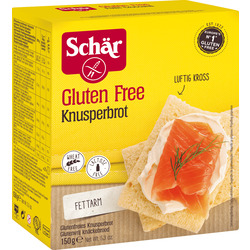 Schär Brot, Knusperbrot, glutenfrei