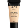NYX PROFESSIONAL MAKEUP Make-Up Stay Matte But Not Flat Liquid Foundation Ivory 01