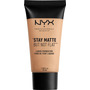 NYX PROFESSIONAL MAKEUP Make-Up Stay Matte But Not Flat Liquid Foundation Natural 03