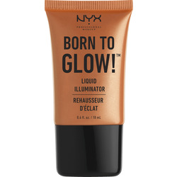 NYX PROFESSIONAL MAKEUP Highlighter Born To Glow Liquid Illuminator pure gold 03