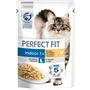 PERFECT FIT Nassfutter für Katzen, Indoor 1+, mit Huhn & Erbsen