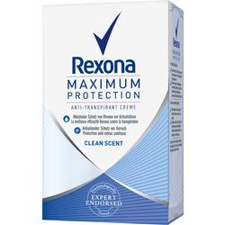 Rexona Deo Creme Antitranspirant Maximum Protection Clean Scent