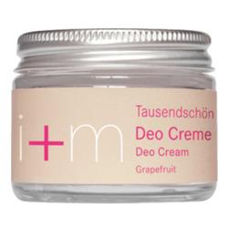I+M Berlin Naturkosmetik Deocreme Tausendschön Grapefruit