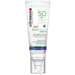 Ultrasun Baby Mineral SPF50 (Crème  SPF 50  100ml)