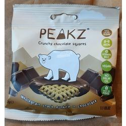 Peakz Cruncy chocolate squares