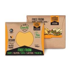 Vegan Cheddar Flavour in Slices