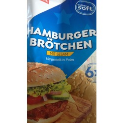 Hamburger Brötchen mit Sesam (K-Classic)