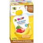 Hipp Quetschbeutel Apfel-Banane & Babykeks nach dem 4. Monat, 4x90g