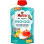 Holle baby food Quetschbeutel Croco Coco, Apfel & Mango mit Kokusnuss ab 8 Monaten