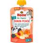 Holle baby food Quetschbeutel Panda Peach, Pfirsich, Aprikose, Banane mit Dinkel ab 8 Monaten