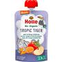 Holle baby food Quetschbeutel Tropic Tiger, Apfel mit Mango & Maracuja ab 8 Monaten