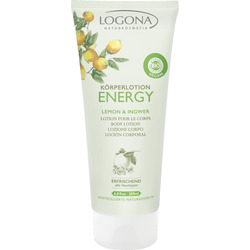 LOGONA ENERGY Körperlotion Lemon & Ingwer