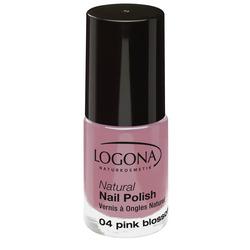 LOGONA Natural Nail Polish no. 04 pink blossom
