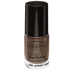 LOGONA Natural Nail Polish no. 05 urban taupe