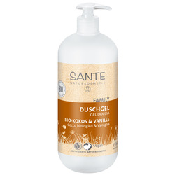 SANTE FAMILY Duschgel Bio-Kokos&Vanille