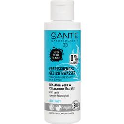 SANTE Erfrischendes Gesichtswasser Bio-Aloe Vera & Chiasamen-Extrakt