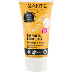 SANTE HAPPINESS Bodylotion Bio-Orange & Mango