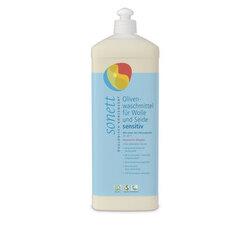 Sonett Olivenwaschmittel für Wolle und Seide sensitiv 20° 30° 40°C