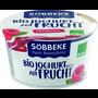 Söbbeke Bio Joghurt auf Frucht Himbeere