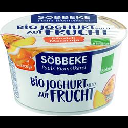 Söbbeke Bio Joghurt auf Frucht Pfirsich-Maracuja