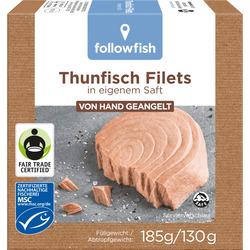 Diverse Thunfischfilets Nature (185g)