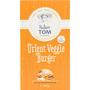 Nature Tom Fertiggericht Burger orient veggie, vegetarische Bratlinge auf Basis von Tofu, Kichererbsen & Möhren