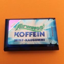 Airwaves Koffein Minz-Kaugummi 8 Dragees