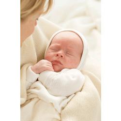 ALANA Baby-Jacke, Gr. 50/56, Erstausstattung für Neugeborene in Bio-Baumwolle, natur, für Mädchen und Jungen