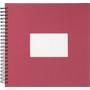 Paradies Profilalbum 30x30 cm beere mit weißen Seiten Online