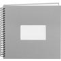 Paradies Profialbum 30x30 grau mit weißen Seiten  Online