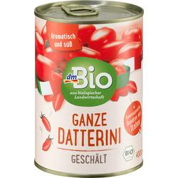 dmBio Tomaten, ganze Datterini geschält