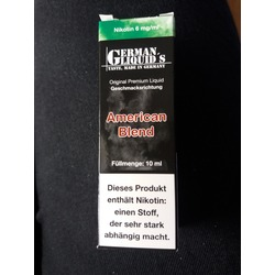 German Liquid's American Blend 10 ml