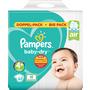 Pampers Windeln Baby-Dry, Größe 4+ Maxi Plus, 10-15 kg, Doppelpack
