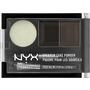 NYX PROFESSIONAL MAKEUP Augenbrauenpuder Eyebrow Cake Powder Black/Gray 01