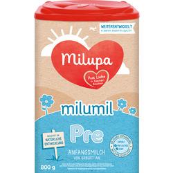 Milupa Milumil Anfangsmilch Pre von Geburt an