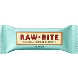 raw bite Rohkost-Riegel peanut, mit Erdnuss