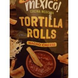 Bienvenido Mexico! Tortilla Rolls Nacho Cheese