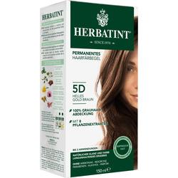 Herbatint Haarfarbe Gel Châtain Clair Doré 5D