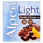 Alpen Light Chocolate & Orange 6 Bars 126g