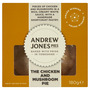 Andrew Jones Pies The Chicken and Mushroom Pie 180g