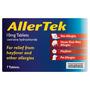 AllerTek 10mg Tablets 7 Tablets
