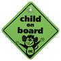 Auto Care Child on Board Sign