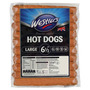 "Westlers Premium Pouched Hot Dogs 6 1/2"" Large 12 x 750g"