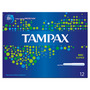 Tampax Cardboard Applicator Super Tampons x12