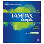Tampax Compak Super Applicator Tampons x8