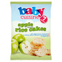 Baby Cuisine Apple Flavoured Rice Cakes 7 Months+ 40g