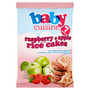 Baby Cuisine Raspberry & Apple Flavoured Rice Cakes 7 Months+ 40g