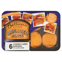 Ballineen Breaded Range 6 Cooked Curry Burgers in a Golden Crumb 360g
