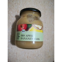 Bio Apfel-Bananenmark